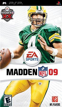 Jogo Madden NFL 09 - PSP - Seminovo