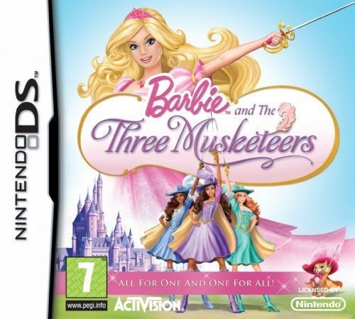 Jogo Barbie And The Three Musketeers - Nintendo DS - Seminovo