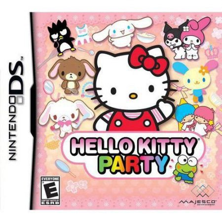 Jogo Hello Kitty Party - Nintendo DS - Seminovo