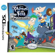 Jogo Disney Phineas and Ferb Across the 2nd Dimension - Nintendo DS - Seminovo