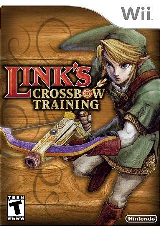 Jogo Link's Crossbow Training [sem capa] - Wii - Seminovo