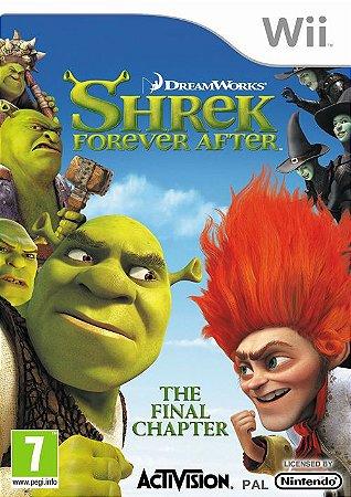 Jogo Shrek Forever After [sem capa] - Nintendo Wii - Seminovo