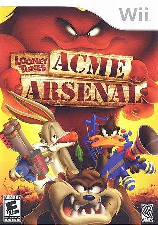Jogo Looney Tunes Acme Arsenal [sem capa] - Nintendo Wii - Seminovo