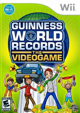 Jogo Guiness World Records The Videogame [sem capa] - Nintendo Wii - Seminovo