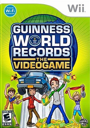 Jogo Guiness World Records The Videogame [sem capa] - Nintendo Wii - Seminovo