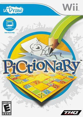 Jogo Pictionary [sem capa] - Nintendo Wii - Seminovo