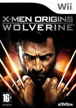 Jogo X-Men Origins Wolverine [sem capa] - Nintendo Wii - Seminovo