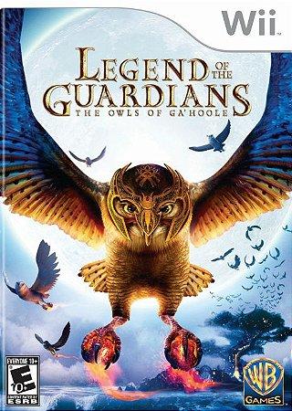 Jogo Legend of The Guardians The Owls of Ga'Hoole [sem capa] - Nintendo Wii - Seminovo