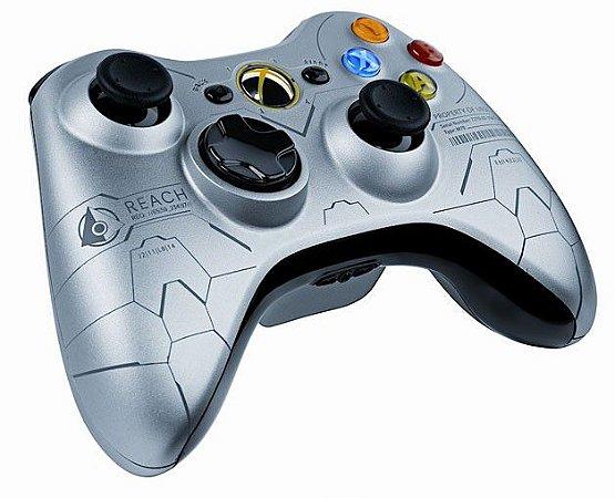 Controle Xbox 360 Edição Halo Seminovo