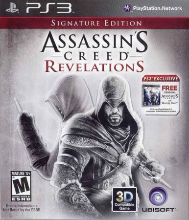 Jogo Assassins Creed Revelations Signature Edition - PS3 - Seminovo