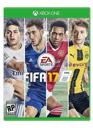 Jogo Fifa 17 - Xbox One - Seminovo