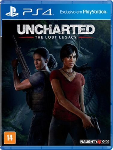Jogo Uncharted The Lost Legacy - PS4 - Seminovo