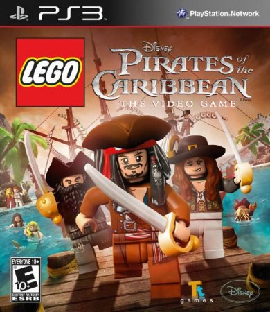 Jogo Lego Pirates of the Caribbean - PS3 - Seminovo