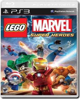 Jogo Lego Marvel Super Heroes - PS3 - Seminovo