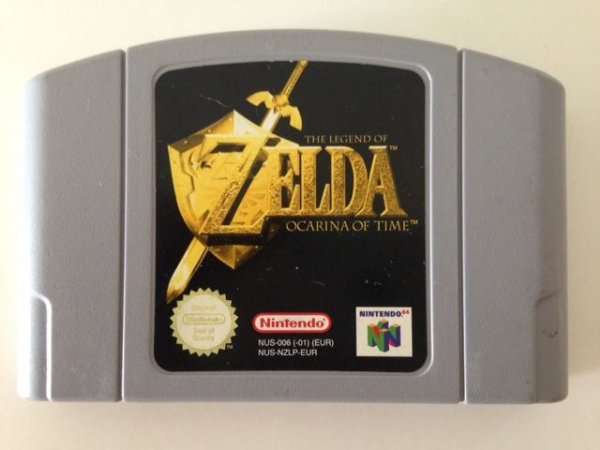 Jogo The Legend of Zelda Ocarina of Time [europeu] Nintendo 64 - Seminovo