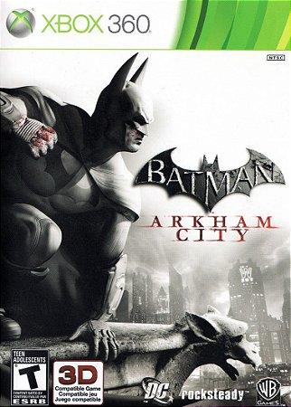 Jogo Batman Arkham City Xbox 360 Seminovo