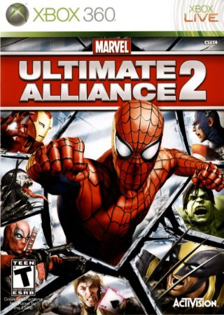 Jogo Marvel: Ultimate Alliance 2 - Xbox 360 - Seminovo