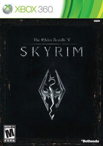Jogo The Elder Scrolls V Skyrim - XBOX 360 - Seminovo