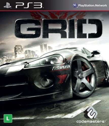Jogo Grid Xbox PS3 - Seminovo