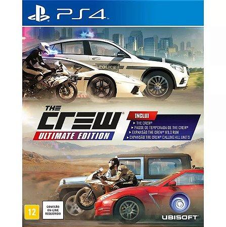 Jogo The Crew Ultimate Edition - PS4 - Seminovo