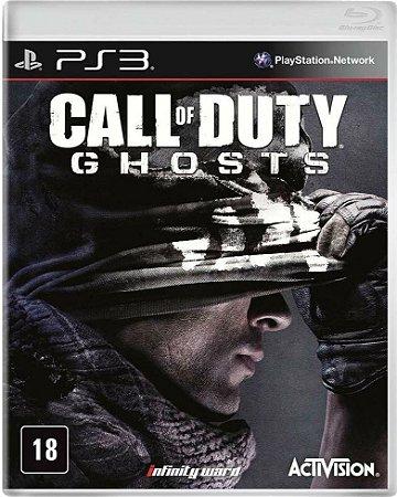 Jogo Call of Duty Ghosts - PS3 - Seminovo