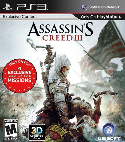 Jogo Assassin's Creed III - PS3 - Seminovo