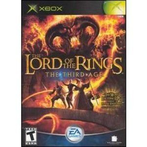 Jogo The Lord Of The Rings Third Age - Europeu - Xbox - Seminovo