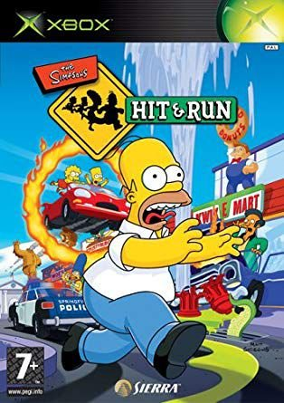 Jogo The Simpsons Hit & Run - Europeu - Xbox - Seminovo