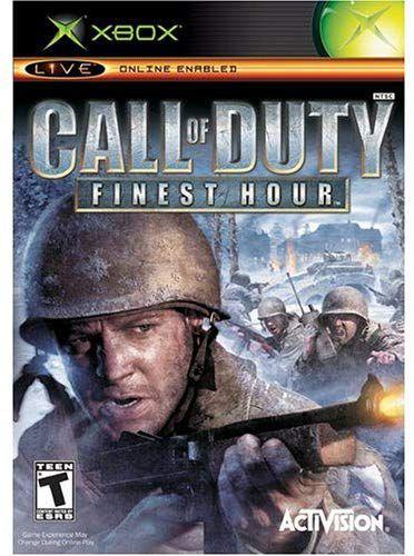 Jogo Call of Duty Finest Hour - Europeu - Xbox - Seminovo