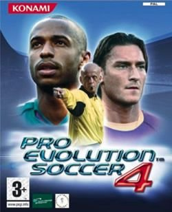 Jogo Pro Evolution Soccer 4 - Europeu- Xbox - Seminovo