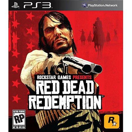 Jogo Red Dead Redemption - PS3 - Seminovo