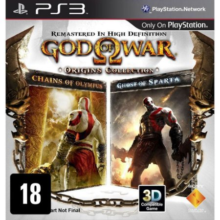 Jogo God Of War Origins Collection - PS3 - Seminovo