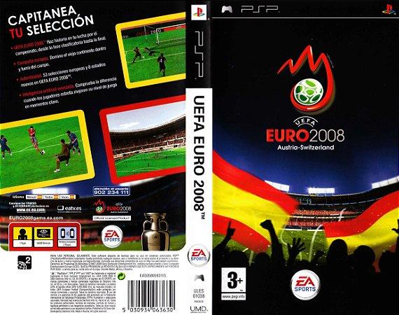 Jogo Uefa Euro 2008 - PSP - Seminovo