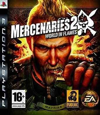 Jogo Mercenaries 2 World in Flames - PS3 - Seminovo