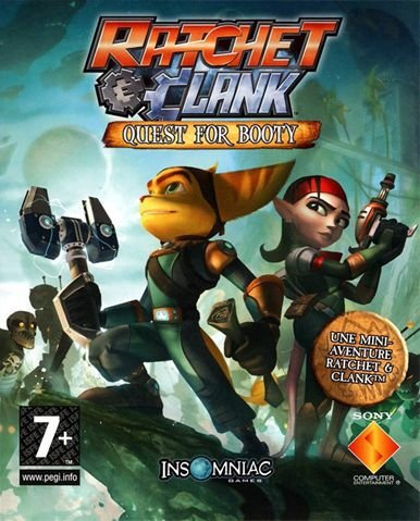Jogo Ratchet & Clanck Quest For Booty - PS3 - Seminovo