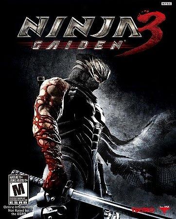 Jogo Ninja Gaiden 3 - PS3 - Seminovo