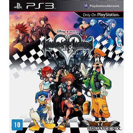 Jogo Kingdon Hearts HD 1.5 Remix - PS3 - Seminovo