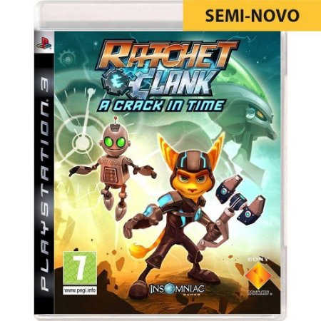 Jogo Ratchet & Clanck A Crack in Time - PS3 - Seminovo