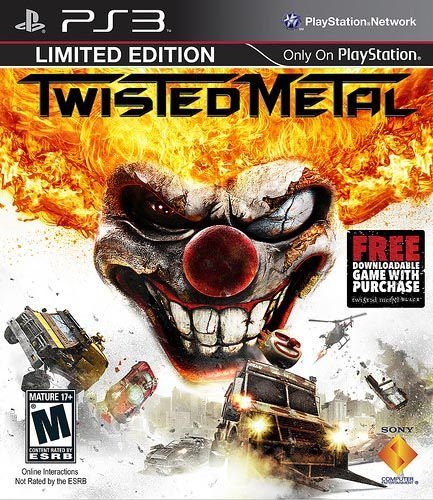 Jogo Twisted Metal - PS3 - Seminovo