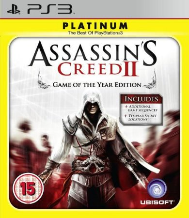 Jogo Assassin's Creed II Platinum- PS3 - Seminovo