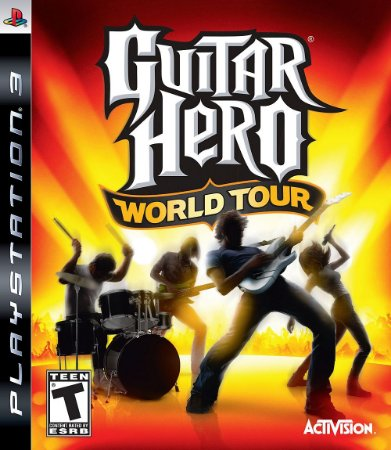 Jogo Guitar Hero World Tour - PS3 - Seminovo