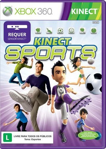 Jogo Kinect Sports Xbox 360 Seminovo