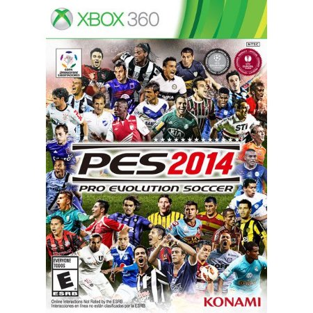 PES 2014 Pro Evolution Soccer - Xbox 360 - Seminovo
