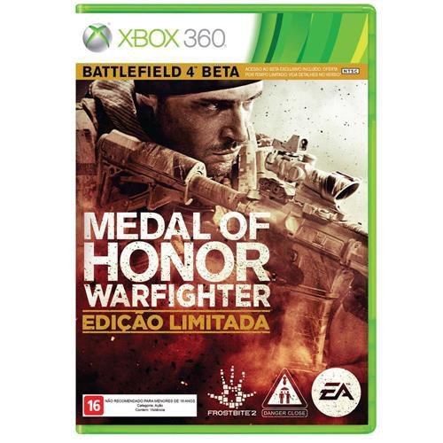 Jogo Medal of Honor Warfighter Edição Limitada - Xbox 360 - Seminovo