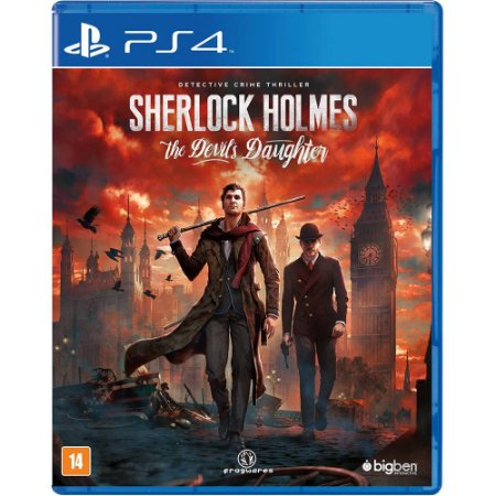 Jogo Sherlock Holmes The Devil's Daughter - PS4 - Seminovo