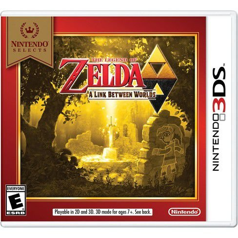 Jogo The Legend Of Zelda A Link Between Worlds - Nintendo 3DS - Seminovo