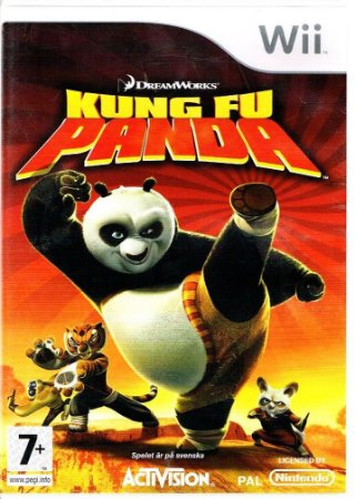 Jogo Kung Fu Panda- Wii - Seminovo