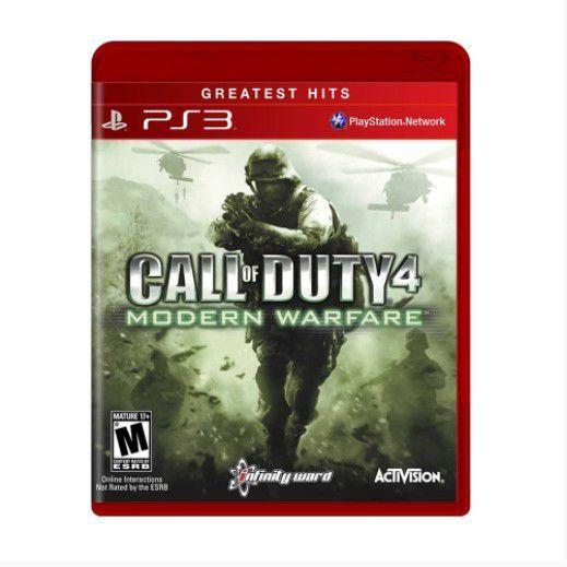 Jogo Call of Dutty Modern Warfare 4  - PS3 - Seminovo