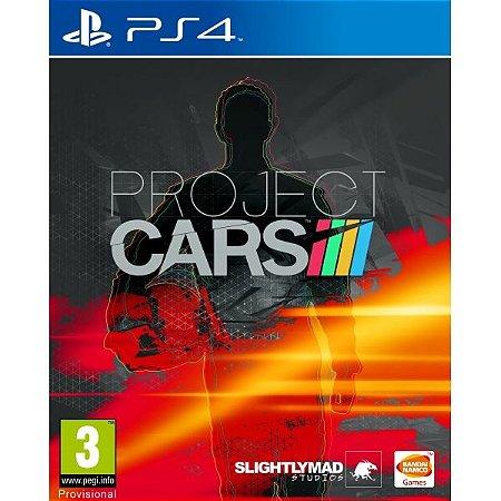 Jogo Project Cars - PS4 - Seminovo