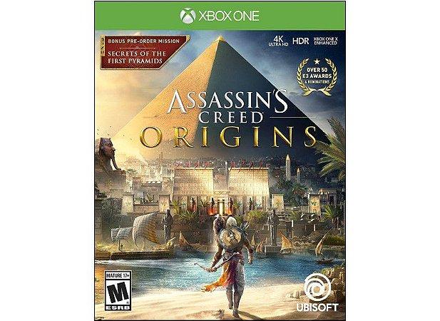 Jogo Assassin's Creed Origins - Xbox One - NOVO